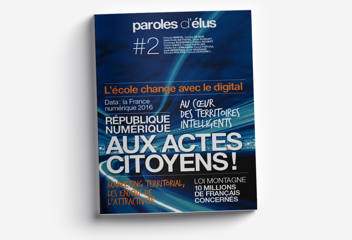 Couverture du mook paroles d'élus n°2